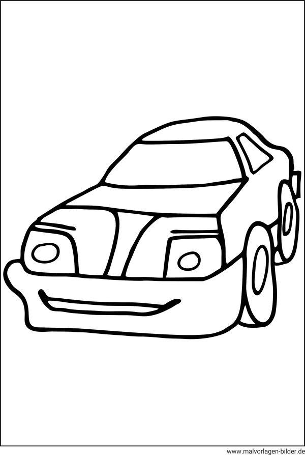 Auto Malvorlagen Und Ausmalbilder Fr Kinder
