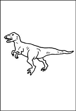 Dinosauriern Malvorlagen Ausmalbildern