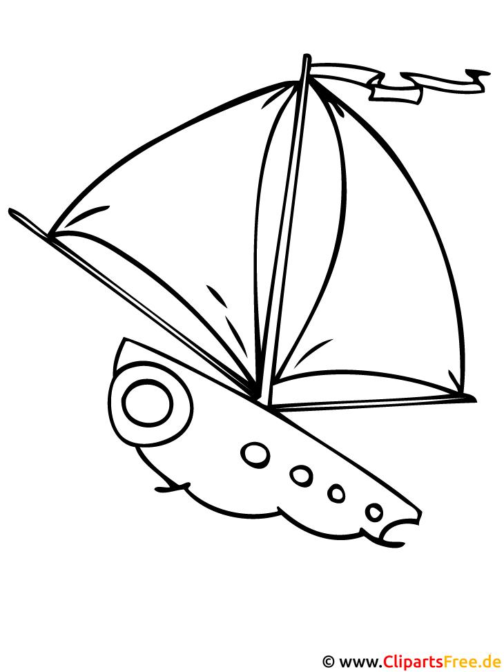 Segelschiff Ausmalbilder Fr Kinder Kostenlos