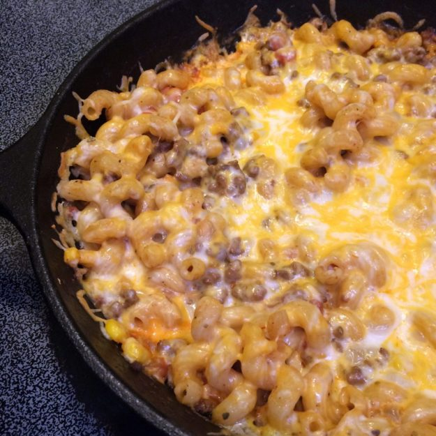 Freezer Friendly Skinny Taco Pasta Bake
