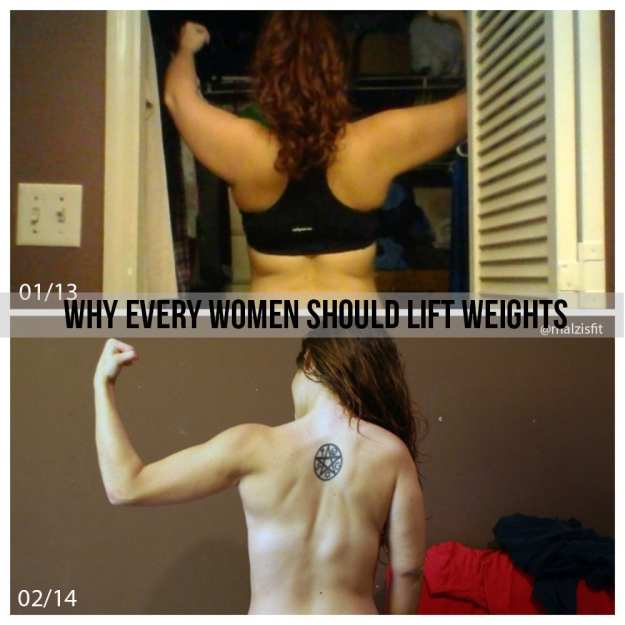 why every women should lift weights