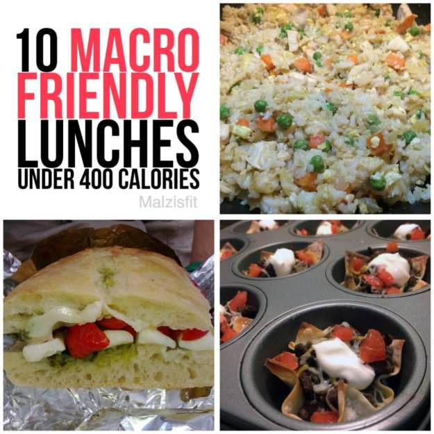 10 macro friendly lunches