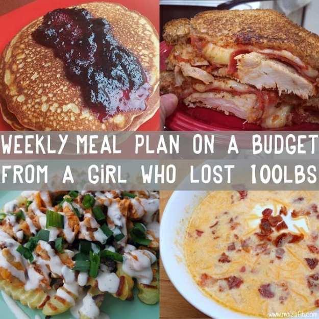 meal plan 8 iifym ideas