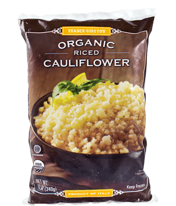 trader joe's cauliflower rice iifym