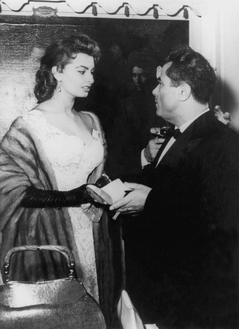 Salvatore Ferragamo:Sophie Loren和菲拉格慕先生