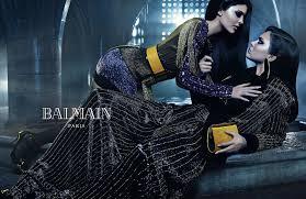 Le due sorelle Jenner per Balmain Fall 2015