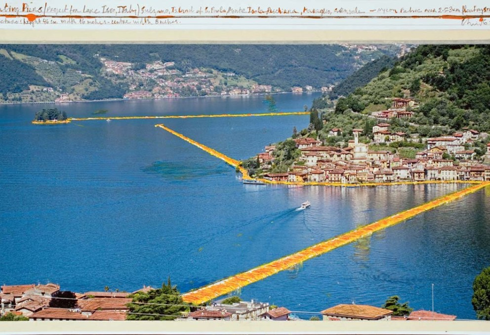 WATER PROJECT, CHRISTO E JEANNE-CLAUDE