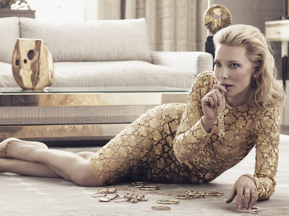 Cate Blanchett photographed by Craigh McDean for Vogue Usa, January 2014