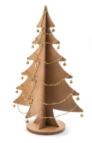 Natale: albero Lessmore, decorato