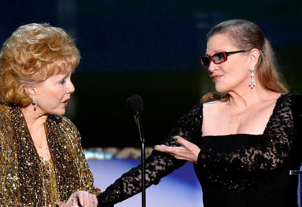 GOLDEN GLOBE: TRIBUTO A CARRIE FISHER E DEBBIE REYNOLDS