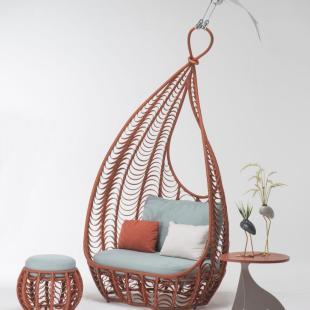 Design: Kenneth Cobonpue, woven jungle collection: l'espressione del rattan naturale
