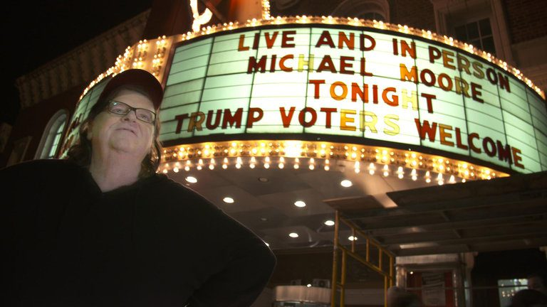 MICHAEL MOORE: PRONTO UN DOCUMENTARIO SHOCK SU DONALD TRUMP