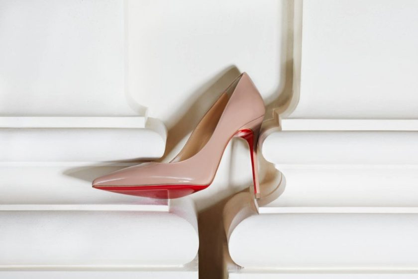 Mame Fashion Dictionary: Christian Louboutin. Iconic Red Sole Stiletto.