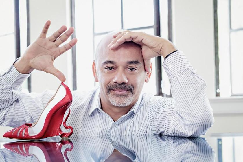 Mame Fashion Dictionary: Christian Louboutin. A portrait of the designer.