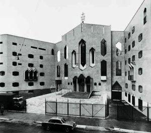 Mame Design: Olivari e Giò Ponti: un amore lungo una vita. San Francesco al Fopponino, 1964
