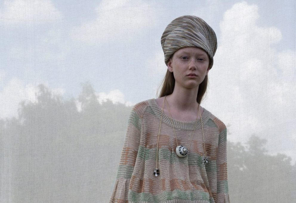 MISSONI RESORT 2019 E IL ROMANTICISMO MODERNO