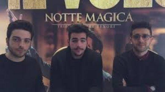 mam-e musica IL VOLO IN CONCERTO CON UN ORCHESTRA SINFONICA notte magica