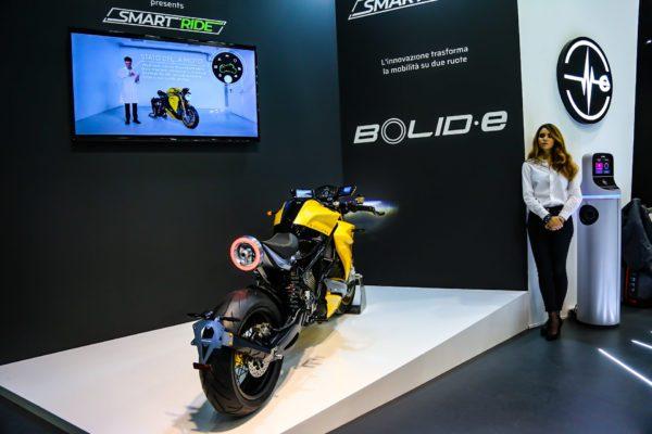 La Bolid-E allo stand Energica di Eicma2018
