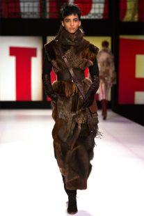 Jean Paul Gaultier svolta eco-friendly. Look Total fur