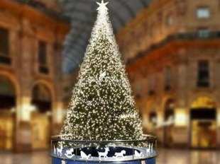 Swarovski accende il Natale a Milano. Albero Swarovski 2018