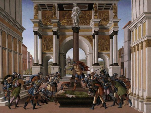 Mame arte SANDRO BOTTICELLI: DUE STORIE AL FEMMINILE Storia di Lucrezia