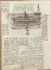 Museo del Tessuto di Prato celebra Leonardo. Bozzetto studio macchina filati