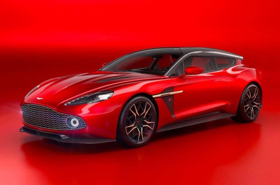 Aston Martin Vanquish Zagato Shooting Brake Rossa