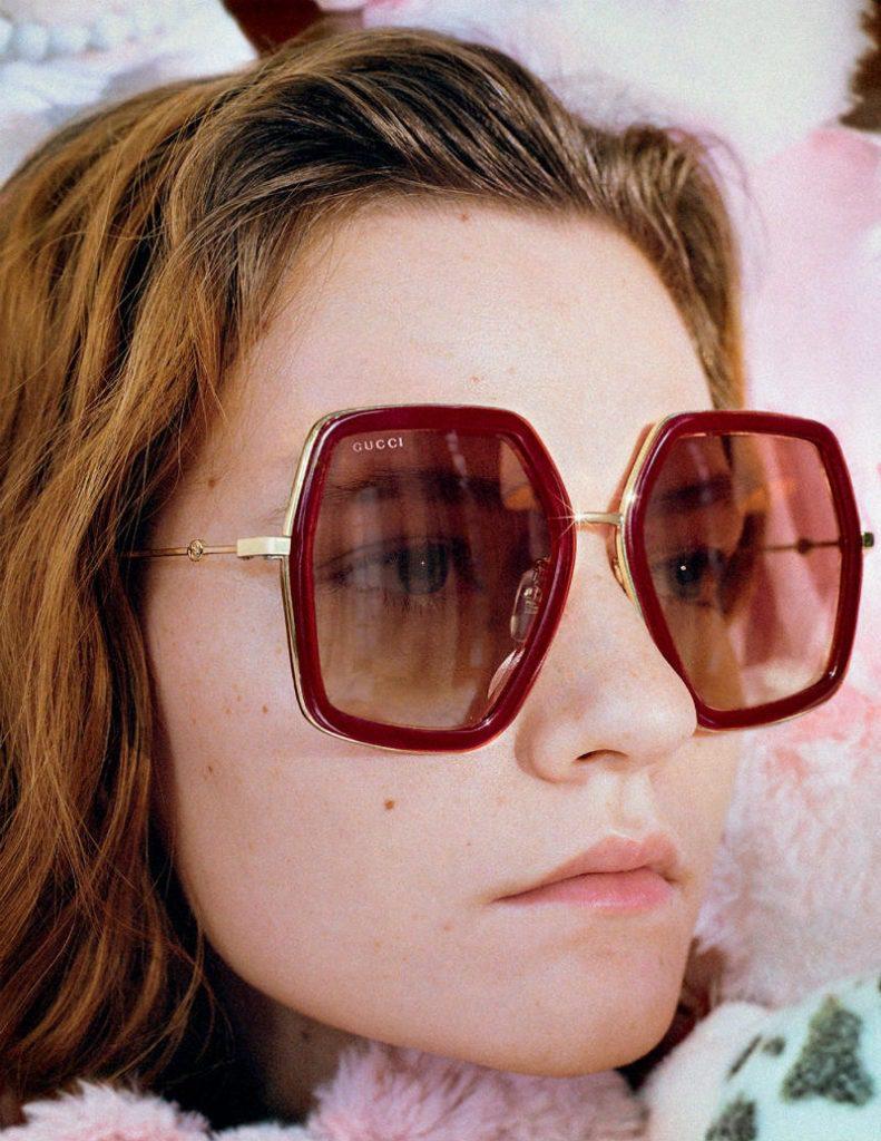 Gucci celebra l'Anno del Maiale. Eyewear