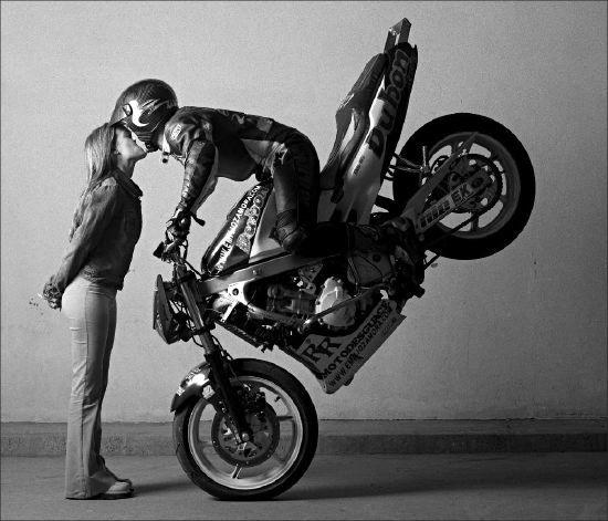 andare in moto riduce lo stress