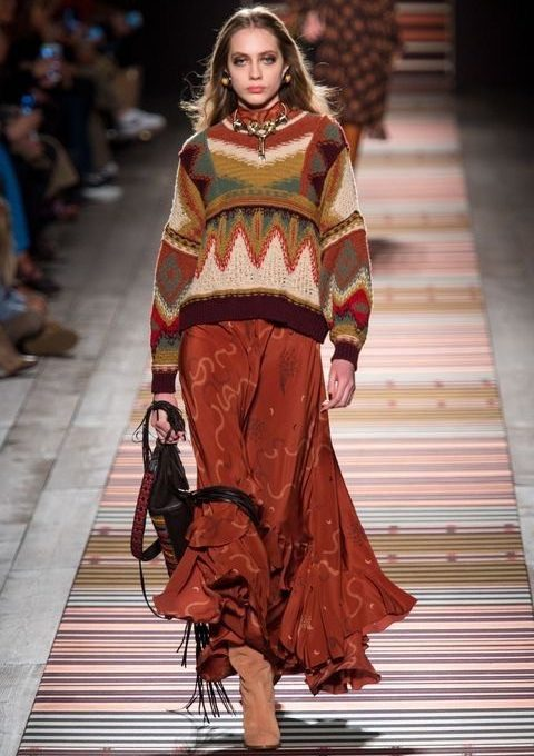 OUTFIT ETRO AUTUNNO/INVERNO 2018/2019