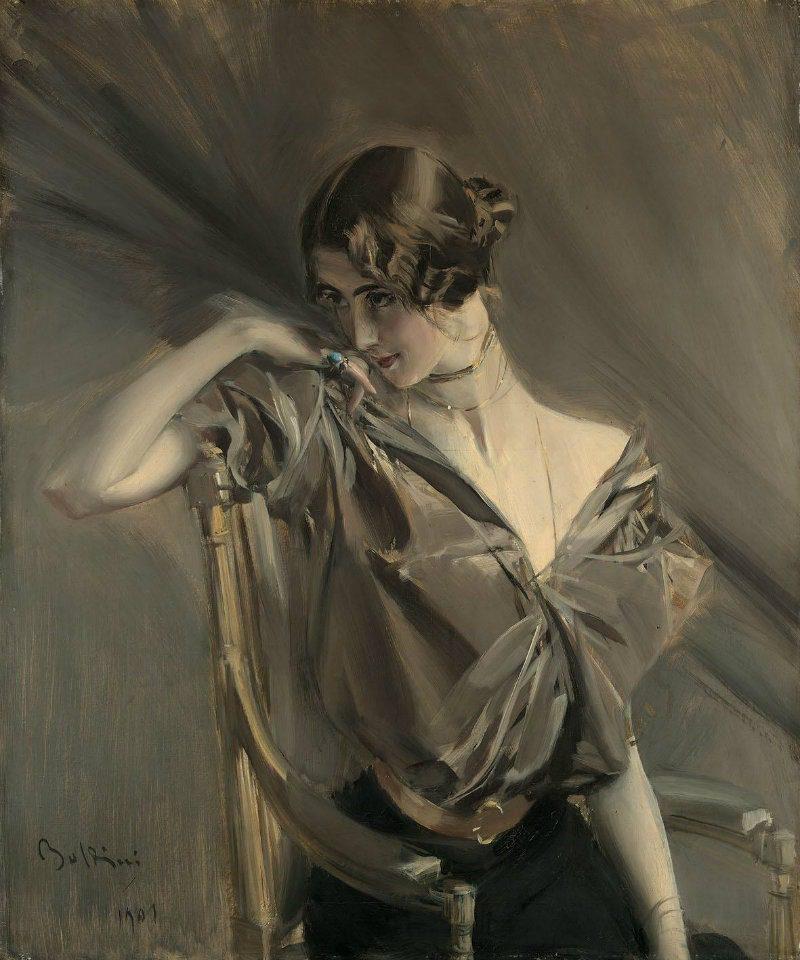 Boldini e la Moda, la mostra a Ferrara. Cléo de Mérode