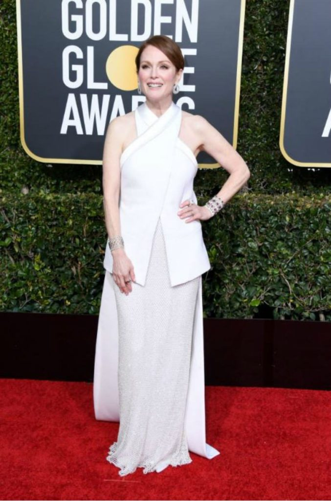 Golden Globe 2019, i look del red carpert. Julianne Moore