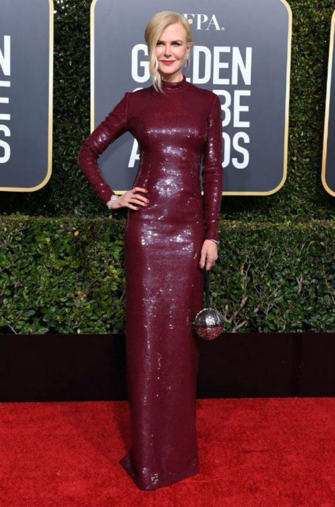 Golden Globe 2019, i look del red carpert. Nicole Kidman