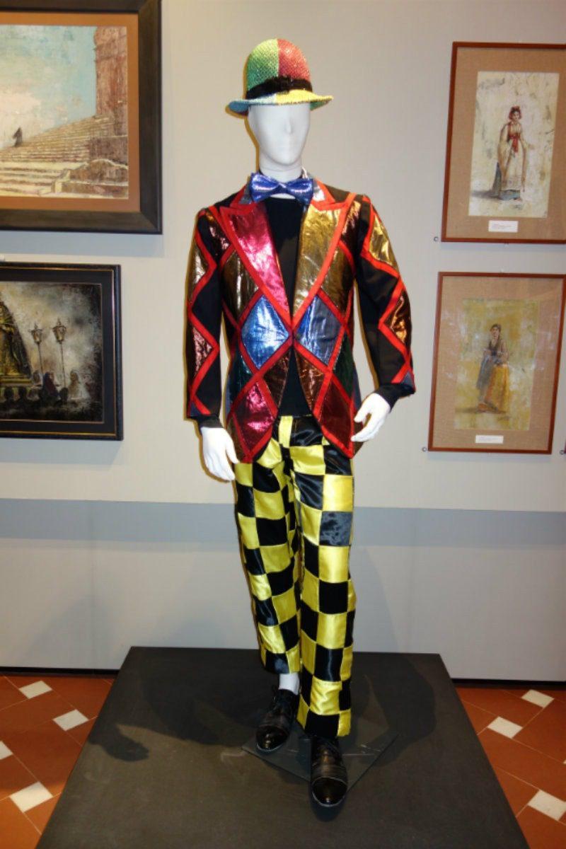 Museo Zeffirelli - otto nuovi costumi di scena. Costume Pagliacci
