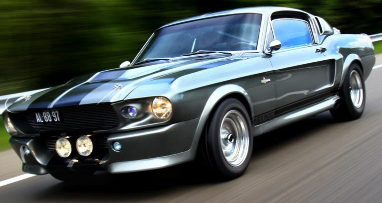 Ford Mustang Shelby GT500 edizione del '68