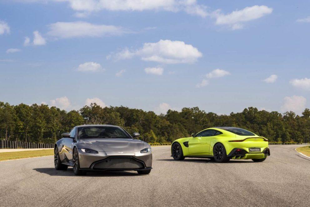 Aston Martin Vantage V8 design unico