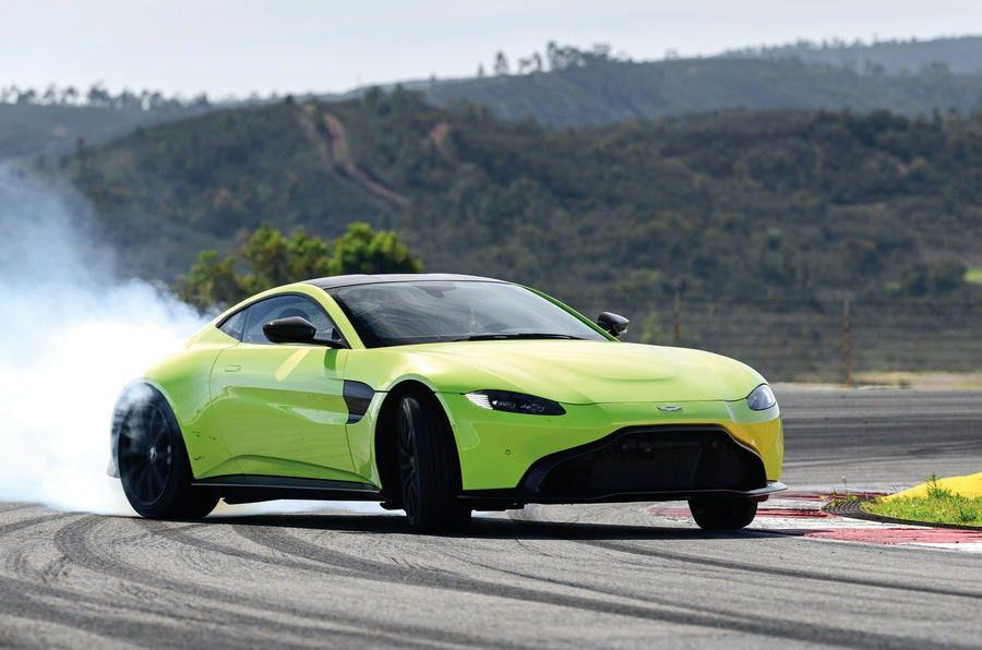 Aston Martin Vantage V8 motore e prestazioni per un uso in pista
