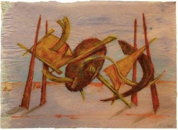 Mame arte HERBERT FERBER. SCULTURA COME METAFORA DI UN'IDEA Opera 4