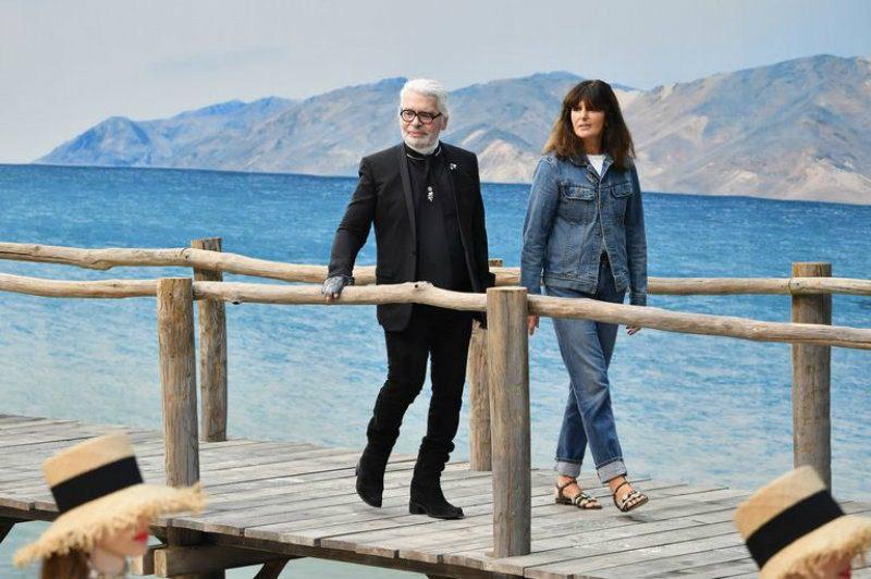 Virginie Viard direttore creativo di Chanel. Karl lagerfeld e Virginie Viard