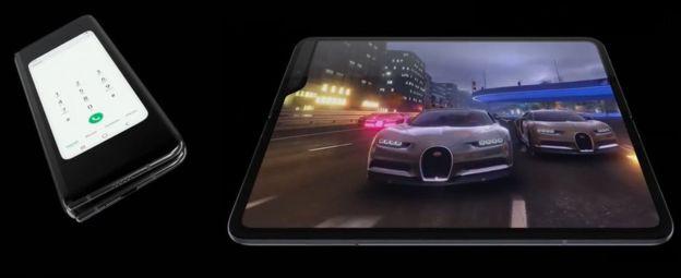 Galaxy Fold il Samsung Pieghevole