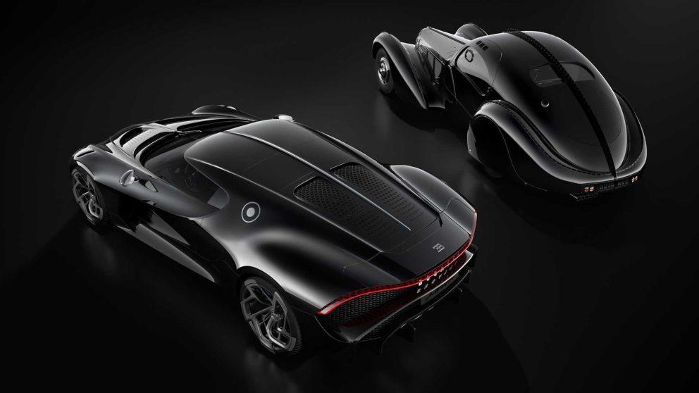 Bugatti La Voiture Noire, un omaggio alla Bugatti Type 57 SC Atlantic