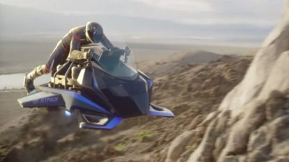 Jetpack Aviation Speeder, la prima moto volante al mondo