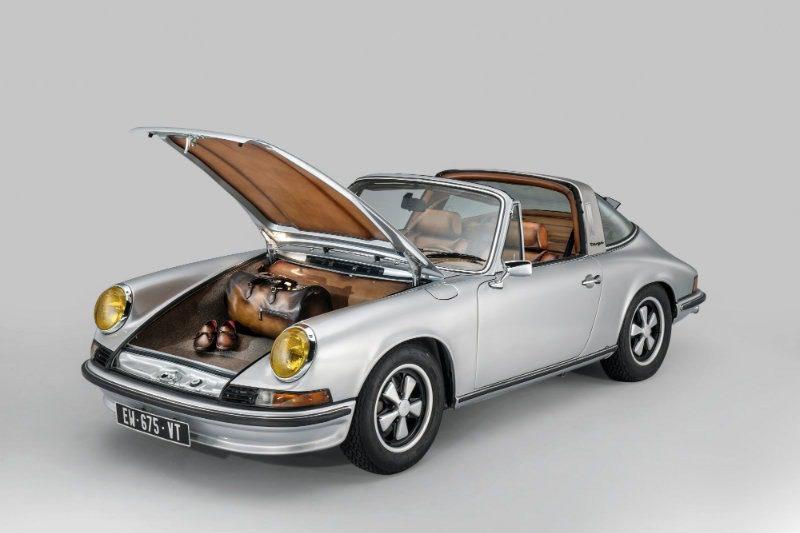 Bagagliaio Porsche by Berluti