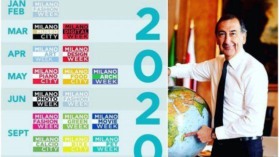 Mame lifestyle LE WEEK DI MILANO 2020: TUTTE LE SETTIMANE TEMATICHE DA NON PERDERE Il Sindaco Sala presenta il calendarioi