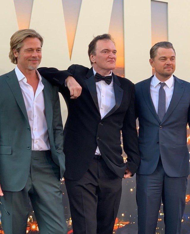 Tarantino alla presentazione di C'era una Volta a Hollywood