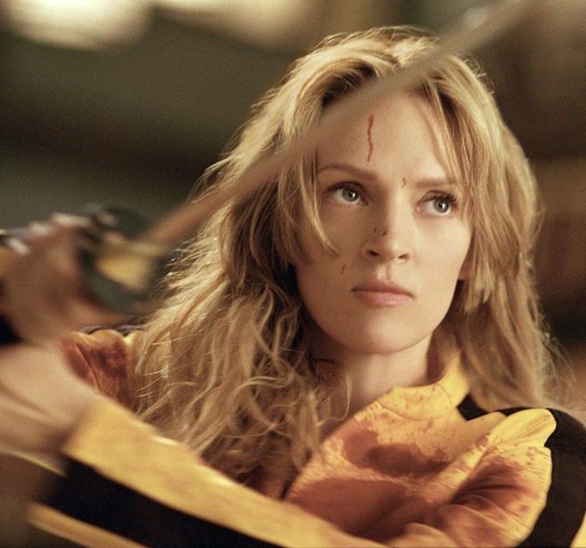 Uma Thurman in una scena di Kill Bill Vol. 1