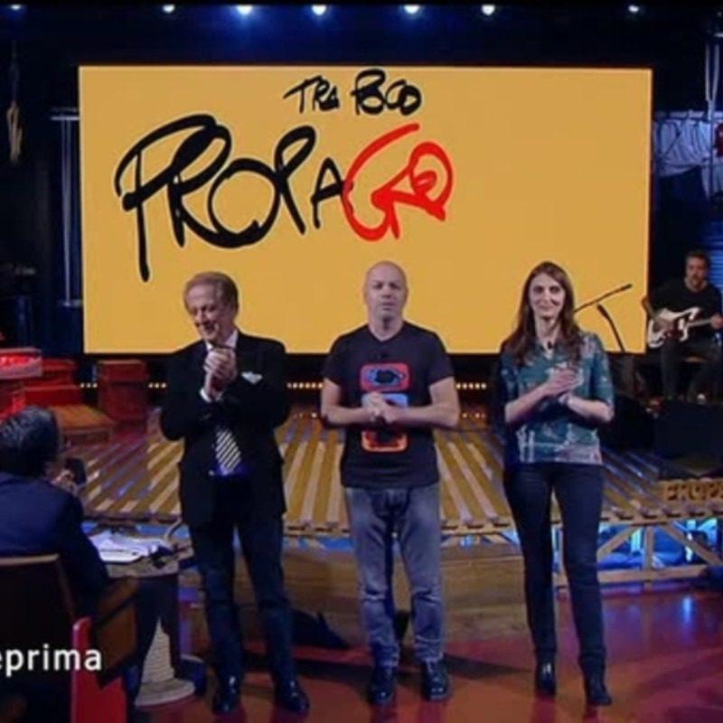 stasera in tv propaganda live