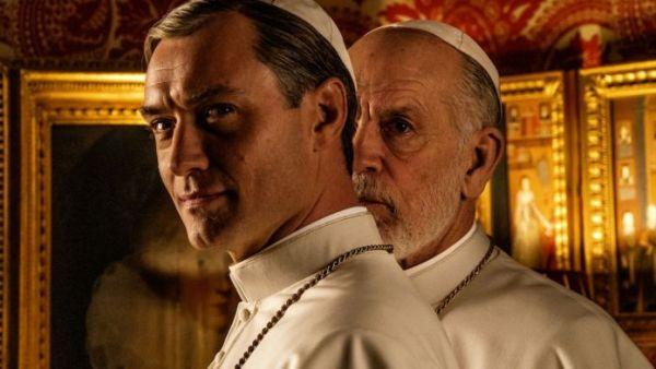 Jude Law e John Malkovich ovvero the young Pope e the new Pope