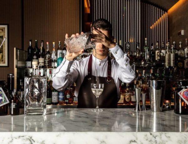 Mio Lab, il cocktail bar dell'hotel Park Hyatt