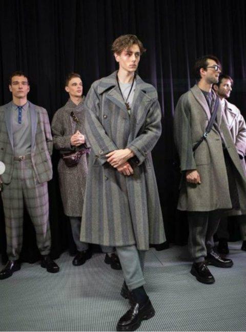 Giacche e cappotti della collezione Armani Fall/Winter 2020-21